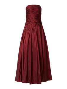 Czerwona sukienka Luxuar z tiulu