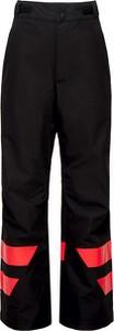 Czarne spodnie dziecięce ROSSIGNOL dla chłopców