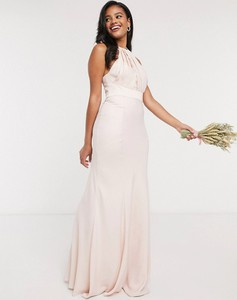 Różowa sukienka Asos maxi