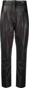 Spodnie Alberta Ferretti ze skóry