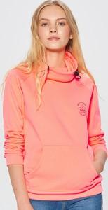 Różowa bluza Cropp w sportowym stylu