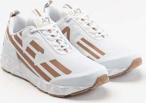 Buty sportowe Emporio Armani ze skóry sznurowane