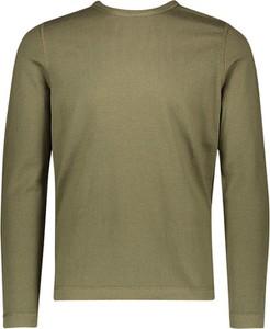 Zielony sweter Marc O'Polo z jedwabiu z okrągłym dekoltem