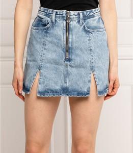 Niebieska spódnica Pepe Jeans mini