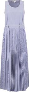 Sukienka Tommy Hilfiger bez rękawów midi
