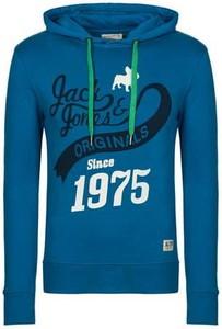Bluza Jack & Jones w młodzieżowym stylu z dresówki