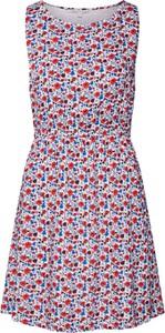 Sukienka Tom Tailor Denim mini z okrągłym dekoltem