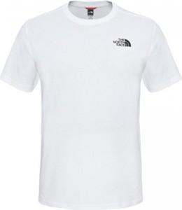 T-shirt The North Face w sportowym stylu z bawełny z krótkim rękawem