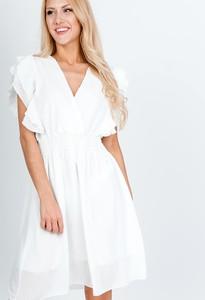 Sukienka Zoio bez rękawów z dekoltem w kształcie litery v