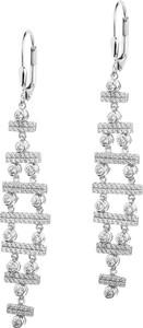 Apart Kolczyki srebrne z cyrkoniami