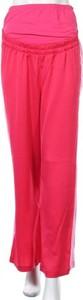 Różowe spodnie Mint&berry ze sztruksu w stylu retro