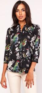 Koszula Lanti bez kołnierzyka w stylu casual z długim rękawem