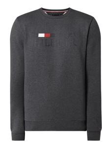 Sweter Tommy Hilfiger z bawełny z nadrukiem