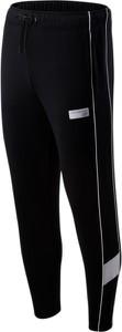 Czarne spodnie sportowe New Balance z bawełny