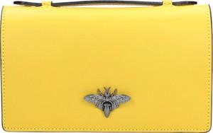 Żółta torebka Wojas
