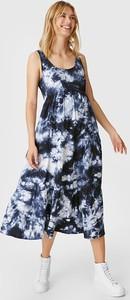 YESSICA C&A Sukienka ciążowa, Niebieski, Rozmiar: XS