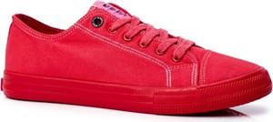 Trampki Męskie Big Star Czerwone FF174336