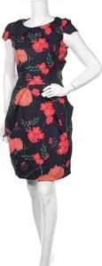Sukienka Marc Angelo mini z krótkim rękawem z okrągłym dekoltem