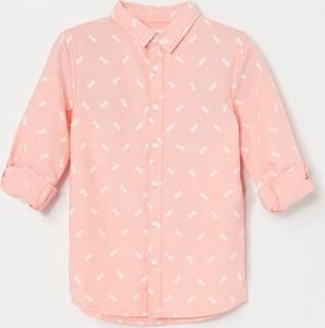 Różowa koszula dziecięca Reserved