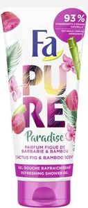 Fa Schwarzkopf, Pure Paradise, Shower Gel, żel pod prysznic, Cactus Fig & Bamboo, 200 ml