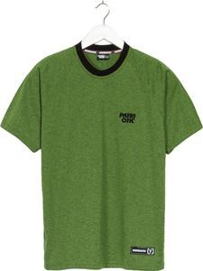 Zielony t-shirt Patriotic z krótkim rękawem