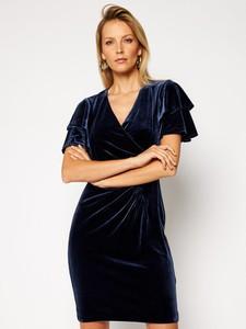 Sukienka DKNY z krótkim rękawem