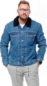Niebieska kurtka Wrangler krótka