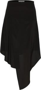 Czarna spódnica POSTYR z jedwabiu