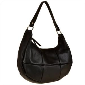 Czarna torebka Vera Pelle w stylu glamour