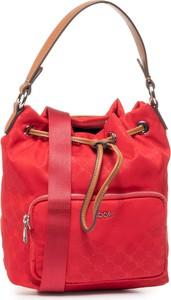 Czerwona torebka Joop! w stylu casual