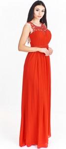 Sukienka Pretty Women z dekoltem w kształcie litery v maxi
