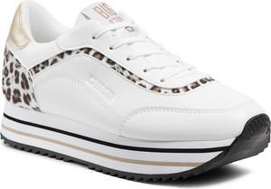 Buty sportowe Big Star na platformie sznurowane w sportowym stylu