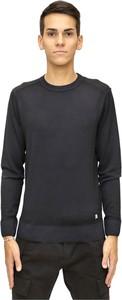 Niebieski sweter C.P. Company z wełny
