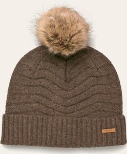 Bordowa czapka Barts