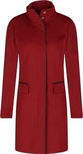 Czerwony płaszcz Hugo Boss