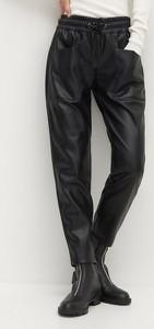 Spodnie Reserved ze skóry ekologicznej