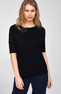 Czarny t-shirt ORSAY z krótkim rękawem