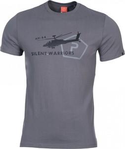 T-shirt Pentagon z bawełny z nadrukiem