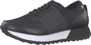 Czarne buty sportowe S.Oliver Red Label z płaską podeszwą