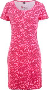 Sukienka bonprix bpc bonprix collection z krótkim rękawem mini