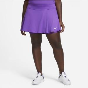 Fioletowa bluzka Nike z okrągłym dekoltem