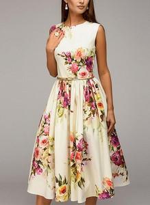 Sukienka Sandbella bez rękawów maxi