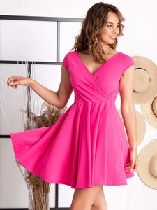 Sukienka Grandio mini z tkaniny