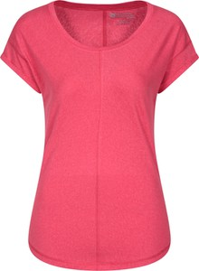 T-shirt Mountain Warehouse z okrągłym dekoltem w stylu casual z krótkim rękawem