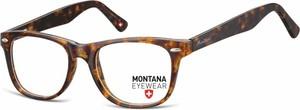 Stylion Oprawki optyczne korekcyjne Nerdy Wayfarer Montana MA61A panterka