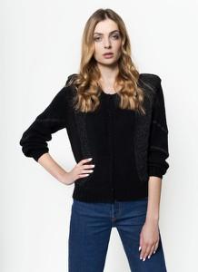 Czarny sweter Pepe Jeans w stylu casual