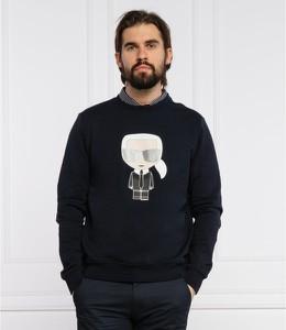 Czarna bluza Karl Lagerfeld w młodzieżowym stylu