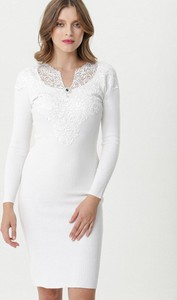 Sukienka born2be w stylu casual dopasowana mini