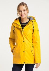 Żółta kurtka Schmuddelwedda w stylu casual z plaru