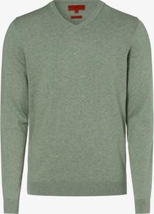 Zielony sweter Finshley & Harding w stylu casual